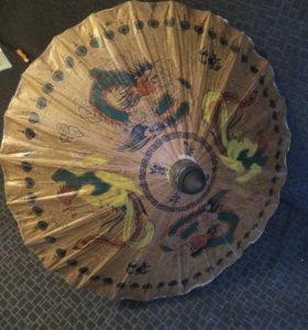Китайский зонтик для декора или косплея