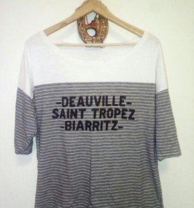 Стильная футболка 52-54