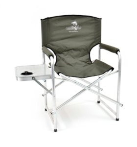 Кресло складное Кедр со столиком с подстаканником