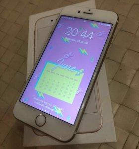 iPhone 6s 64 гб золотой с ростестом