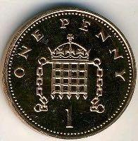Великобританский пенни