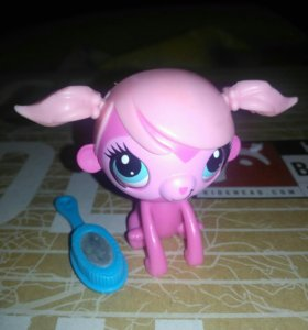 Littlest Pet Shop с расчёской