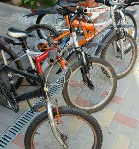 Велосипед для детей с4 до 10 лет.