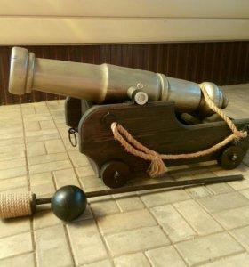 Пушка корабельная, макет.