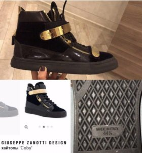мужская обувь, кеды, ZANOTTI original