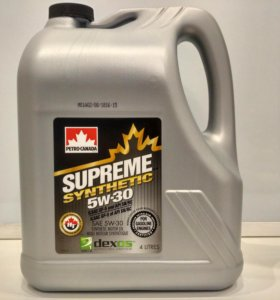 Petro-Canada Supreme Synthetic 5w-30 4L