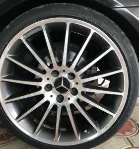 Колёса Mercedes r19