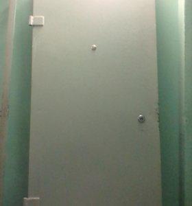 Железная дверь с рамой