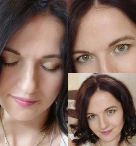 Свадебный (пробный) макияж, вечерний, дневной и др