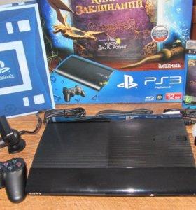 Игровая приставка Sony PlayStation 3 Super Slim