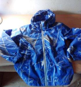 Ветровка Lassia, рост 122, синяя