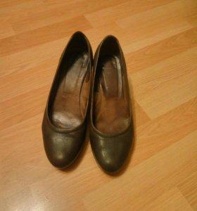 Туфли р 39 кожа