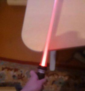 Игрушка световой меч.