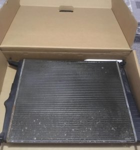 Радиатор охлаждения на лада ларгус