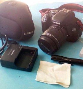Продам фотоаппарат Canon 600D кэнон 600 d
