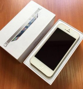 Продам iPhone 5 white 32 gb