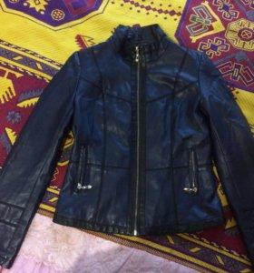 Куртка кожзам 46размер