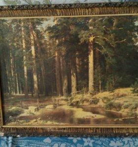 Картина маслом И.И.Шишкин