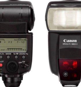 Вспышка Canon EX 580 ii +радиосинхронизаторыRaylab