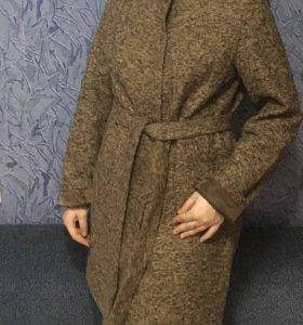 Пальто полушерстяное, новое с бирками!