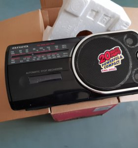 Новый Магнитофон рапио кассет AIWA RM-200 Sony