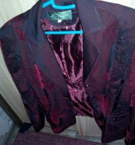 Блузка и пиджак(комплект)
