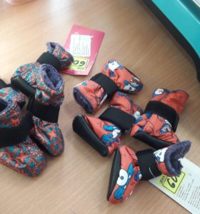 Зимняя обувь для собочек