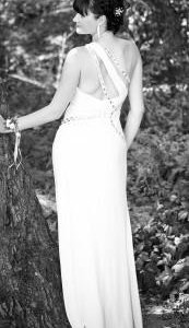 Платье для выпускного или свадьбы.