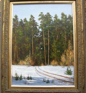 Картины маслом на холсте 30 х 40