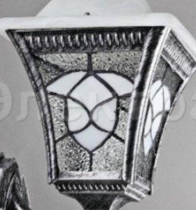 Уличный светильник фонарь новый 2 шт
