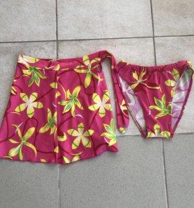 Плавки юбка р XS новая