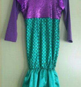 Детское платье-русалка