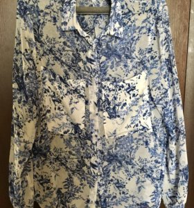Рубашка Zara на лето