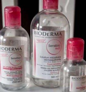 Мицеллярный раствор Bioderma Sensibio H2O