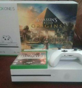 Новый Xbox One S +16 игр