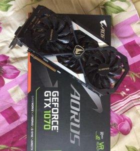 Gigabyte GTX 1070 AORUS 8gb