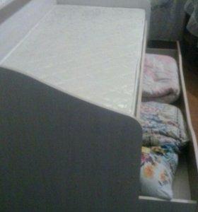 Кровать с артопидичечким марассом