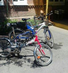 2 велосипеда Maxxpro и Stels