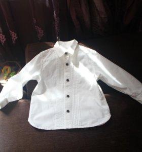 рубашка mothercare 2-3