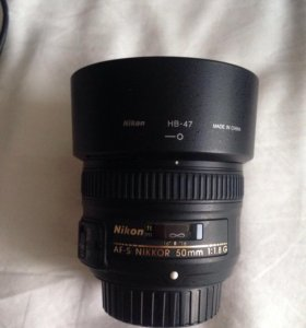 Nikkor AF-S 50mm 1:1.8