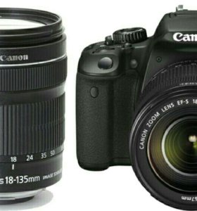 Canon 650 kit 18-135 STM+бонус