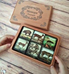 """Игра для тренировки памяти """"Мемори"""" из Бука!"""