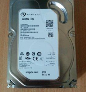 Жёсткий диск 3.5 на 2 терабайта