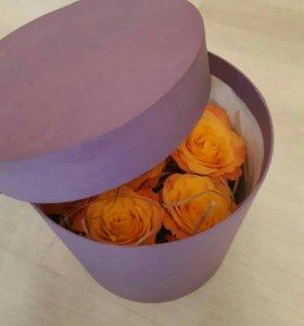 Розы с сюрпризом!!!!!