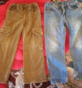 Продам джинсы и брючки на рост 105-110 см