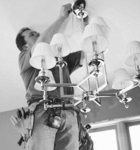 Установка и ремонт люстр