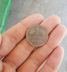 Монета из Германии 1974 года