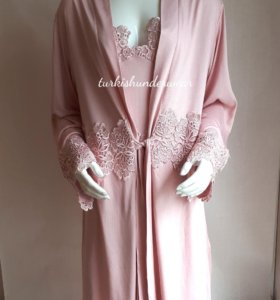 Женская сорочка,халат. Пеньюар