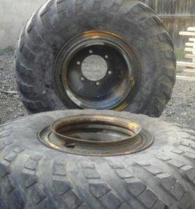 Колеса с дисками на трактор Т25,Т16
