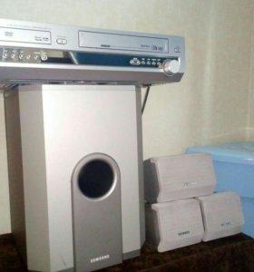Домашний кинотеатр (видеотройка) DVD, VHS, FM/AM